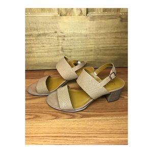 Franco Sarto Tan Heels (Size 8.5)